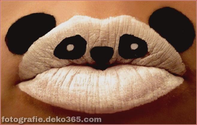 Funny Lips Art