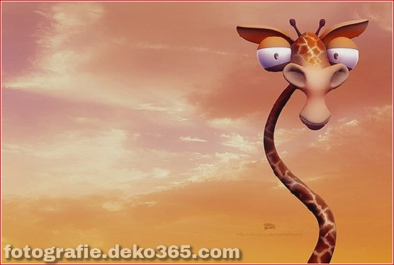 Beautiful 3D Cartoon Character