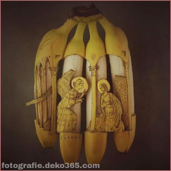 Wunderschöne Bananenschnitzkunst (6)