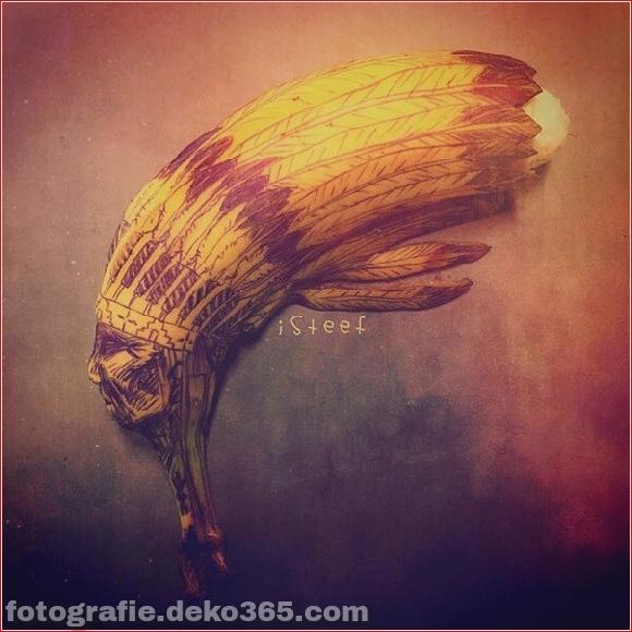 Wunderschöne Bananenschnitzkunst (7)
