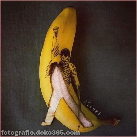 Wunderschöne Bananenschnitzkunst (9)