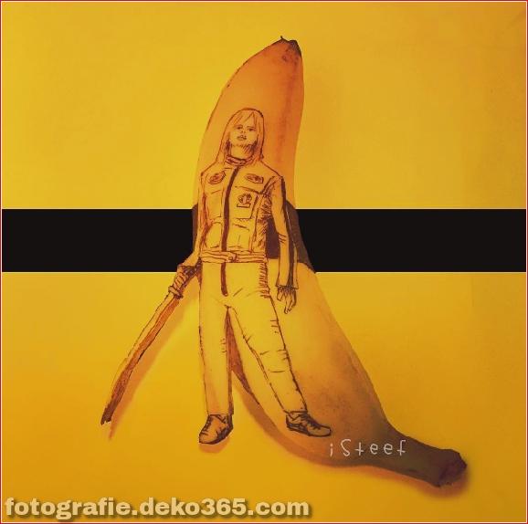 Wunderschöne Bananenschnitzkunst (13)