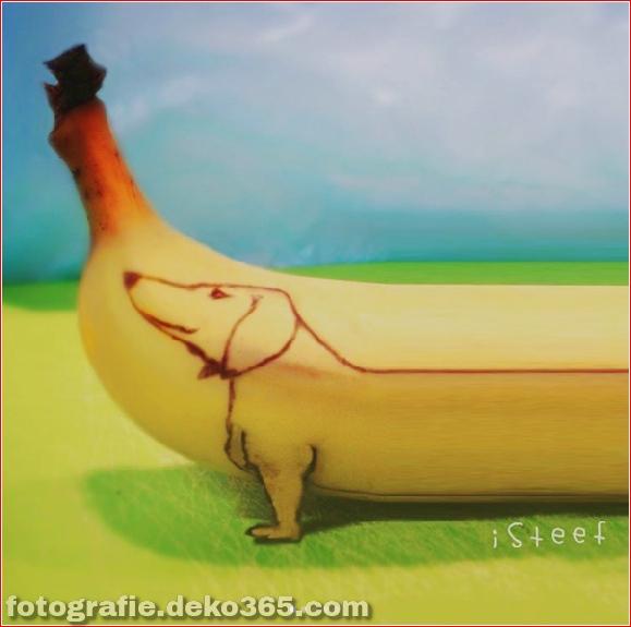Wunderschöne Bananenschnitzkunst (15)