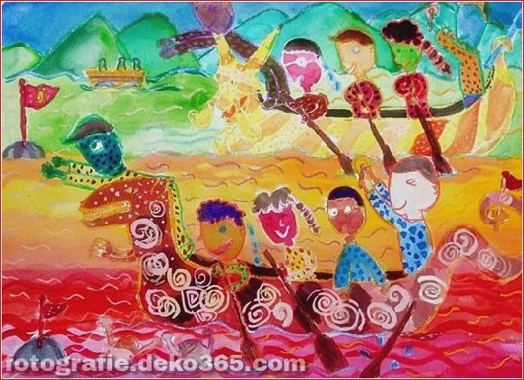 Schöne Kinder Zeichenstunden für Menschen (5)