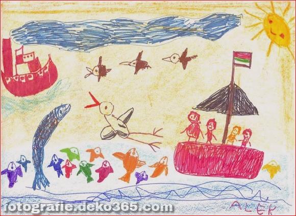 Schöne Kinder Zeichenstunden für Menschen (9)