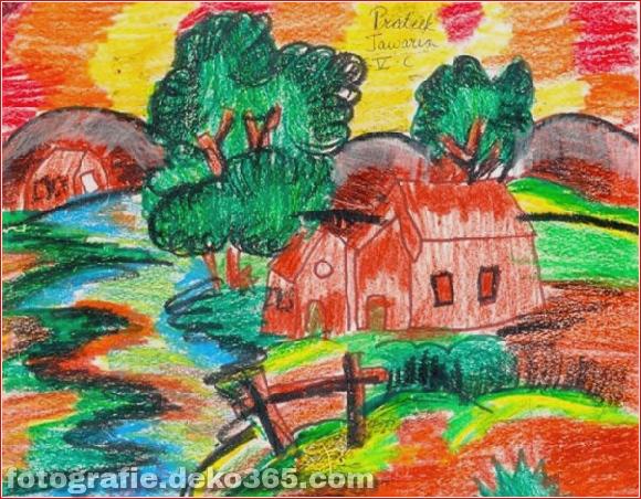 Schöne Kinder Zeichenstunden für Menschen (11)