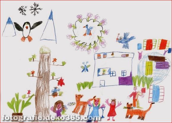 Schöne Kinder Zeichenstunden für Menschen (20)