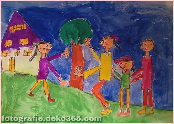 Schöne Kinder Zeichenstunden für Menschen (24)
