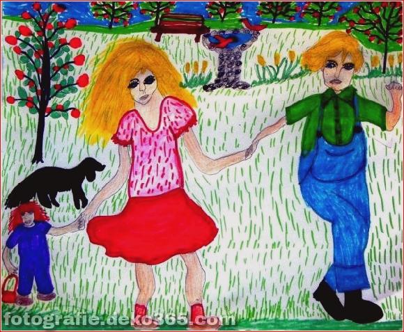 Schöne Kinder Zeichenstunden für Menschen (25)