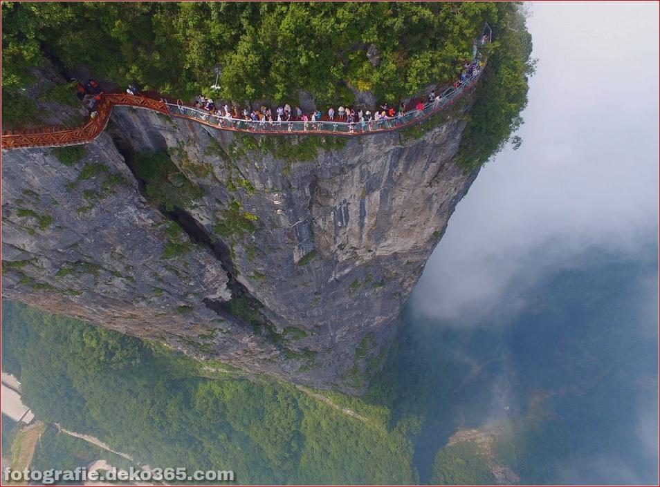 Chinas Glasweg wird in Tianmen Mountain eröffnet (2)
