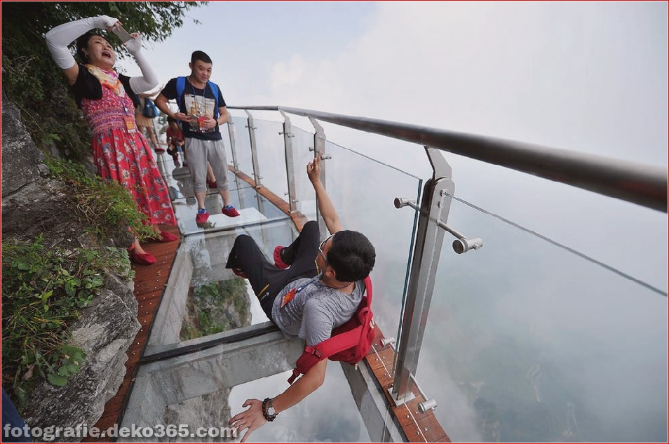 Chinas Glasweg öffnet sich auf dem Tianmen-Berg (4)