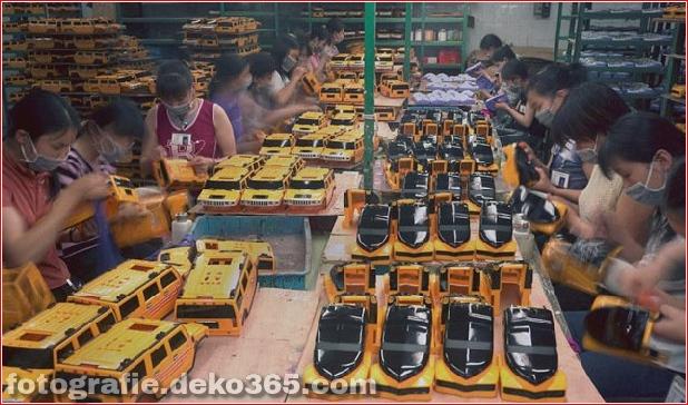 Fabrikarbeiterporträts