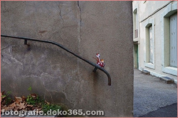 Clevere Straßenkunst (1)
