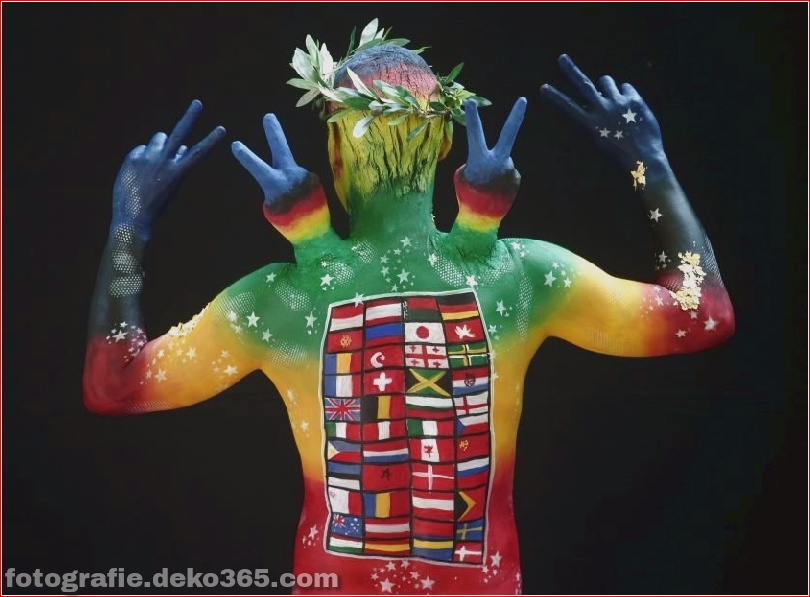 World Body Painting Festival in Pörtschach, Österreich (4)