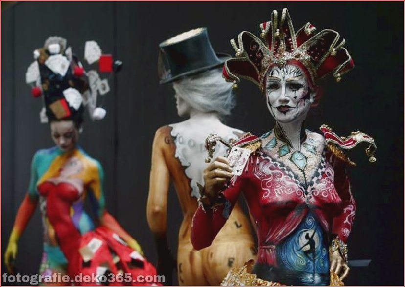 World Body Painting Festival in Pörtschach, Österreich (10)