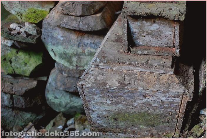 Geheimnisvolle hängende Särge von Sagada (3)