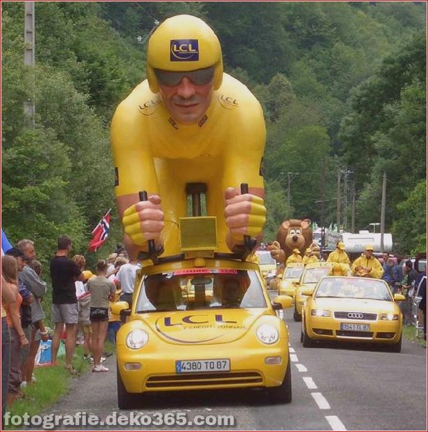 Tour de France lustige Bilder (2)