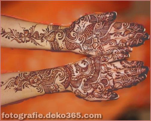 Berühmte asiatische Mehndi-Designs für Handfinger (4)