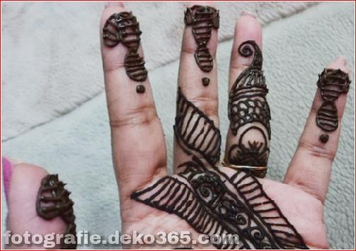 Berühmte asiatische Mehndi-Designs für Handfinger (7)