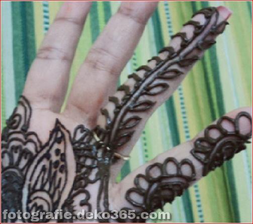 Berühmte asiatische Mehndi-Designs für Handfinger (15)