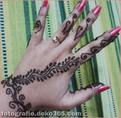 Asian Berühmte Mehndi Designs für Handfinger (29)