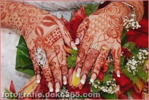 Asian Berühmte Mehndi Designs für Handfinger (32)