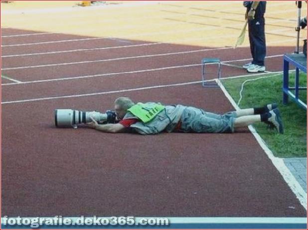 Eventuell schwierige Arbeit des Fotografen (3)