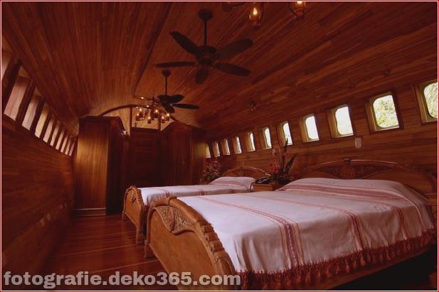 Boeing 727 Flugzeug umgewandelt in Hotel - Costa Rica (8)