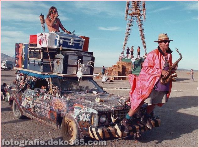 Burning Man - Schwarze Felsenwüste in Nevada (3)
