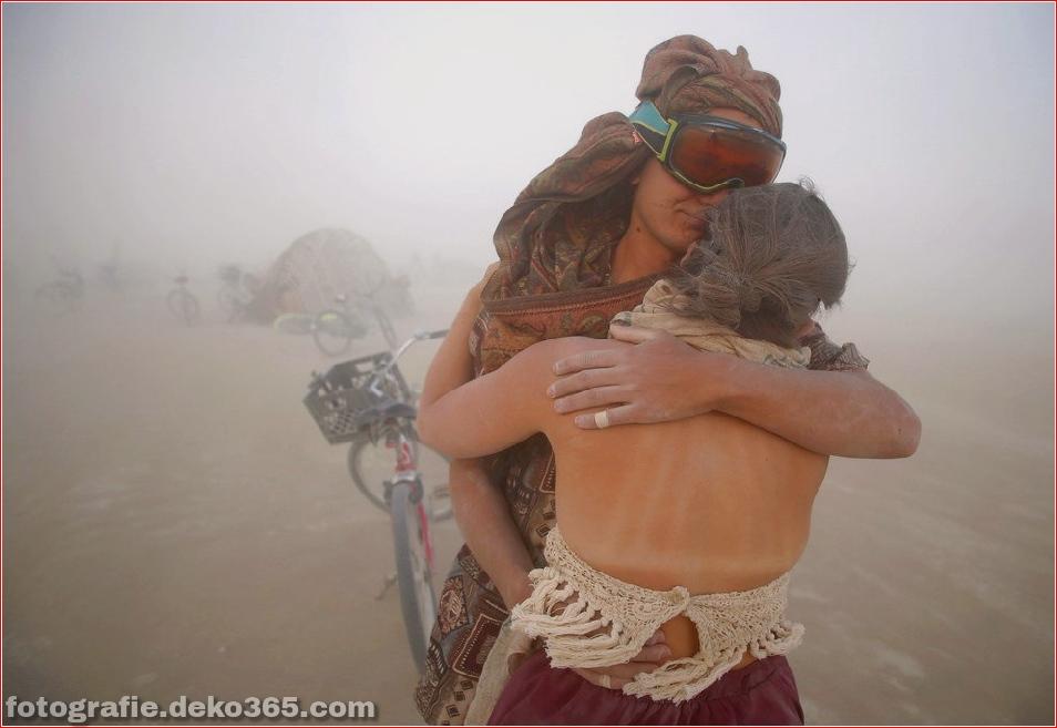 Burning Man - Schwarze Felsenwüste in Nevada (6)