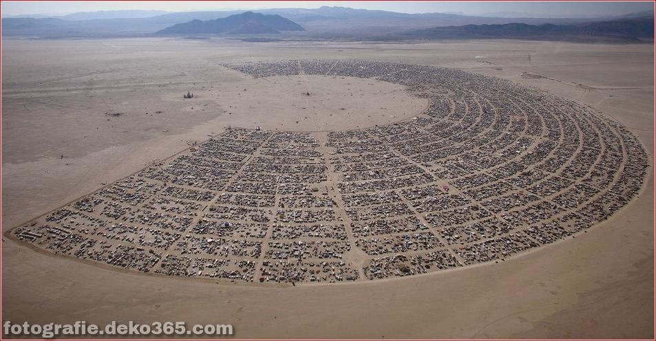 Burning Man - Schwarze Felsenwüste in Nevada (13)