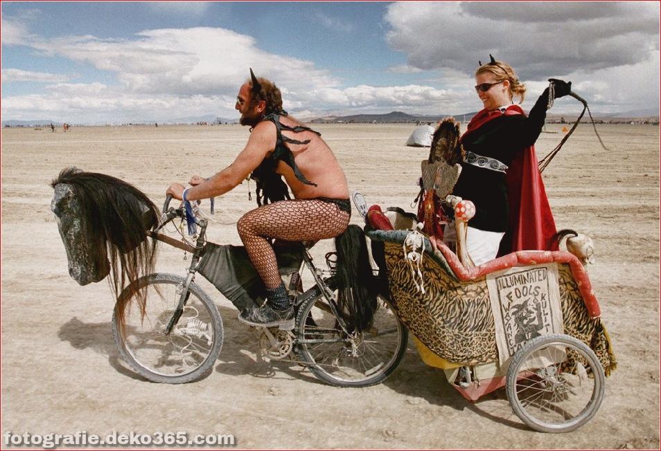 Burning Man - Schwarze Felsenwüste in Nevada (14)