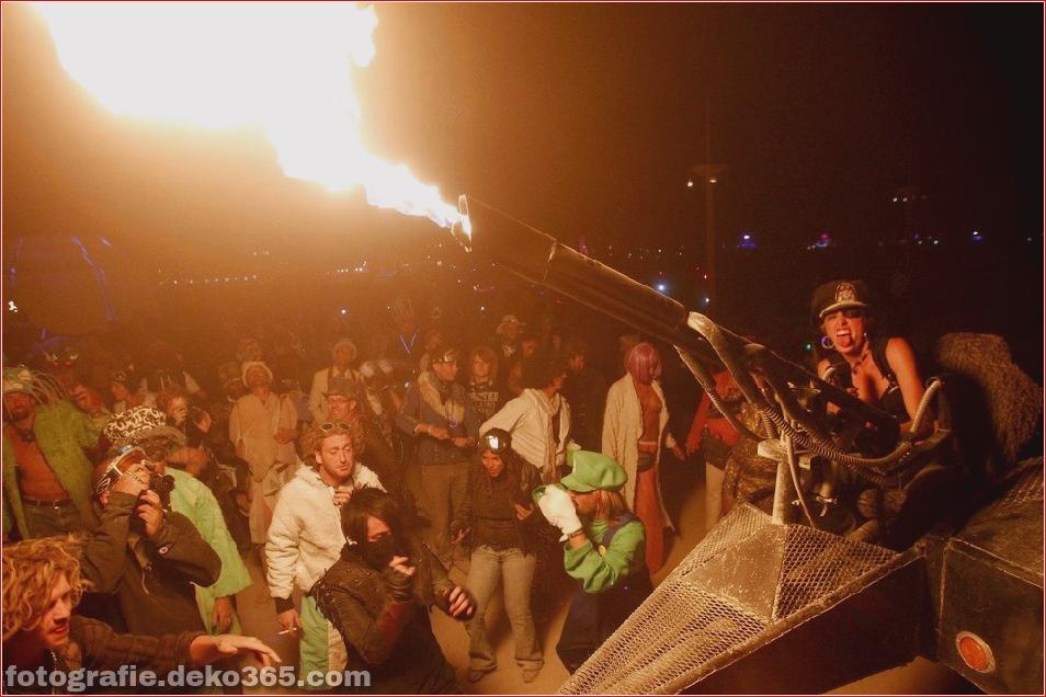 Burning Man - Schwarze Felsenwüste in Nevada (16)