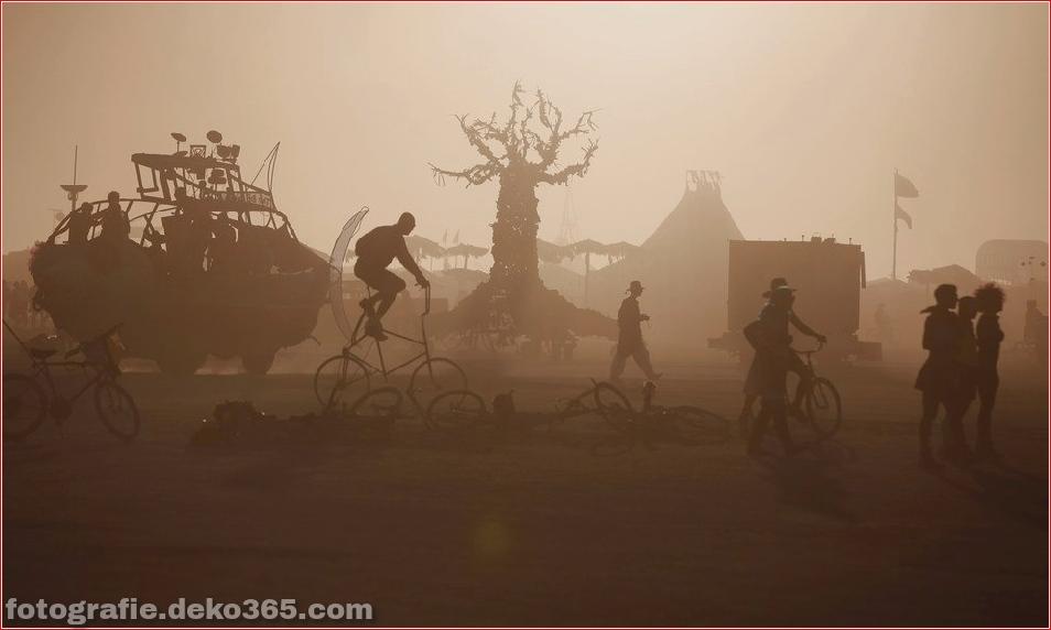Burning Man - Schwarze Felsenwüste in Nevada (25)