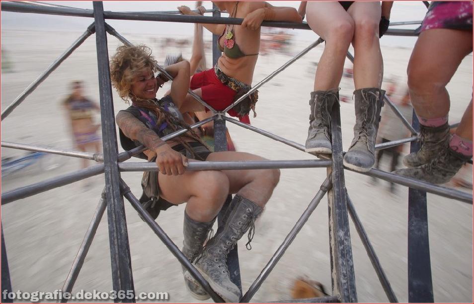 Burning Man - Schwarze Felsenwüste in Nevada (26)