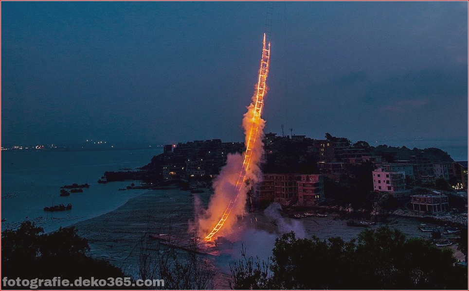 "Cai Guo-Qiang - ""Himmelsleiter"" (China) (4)"