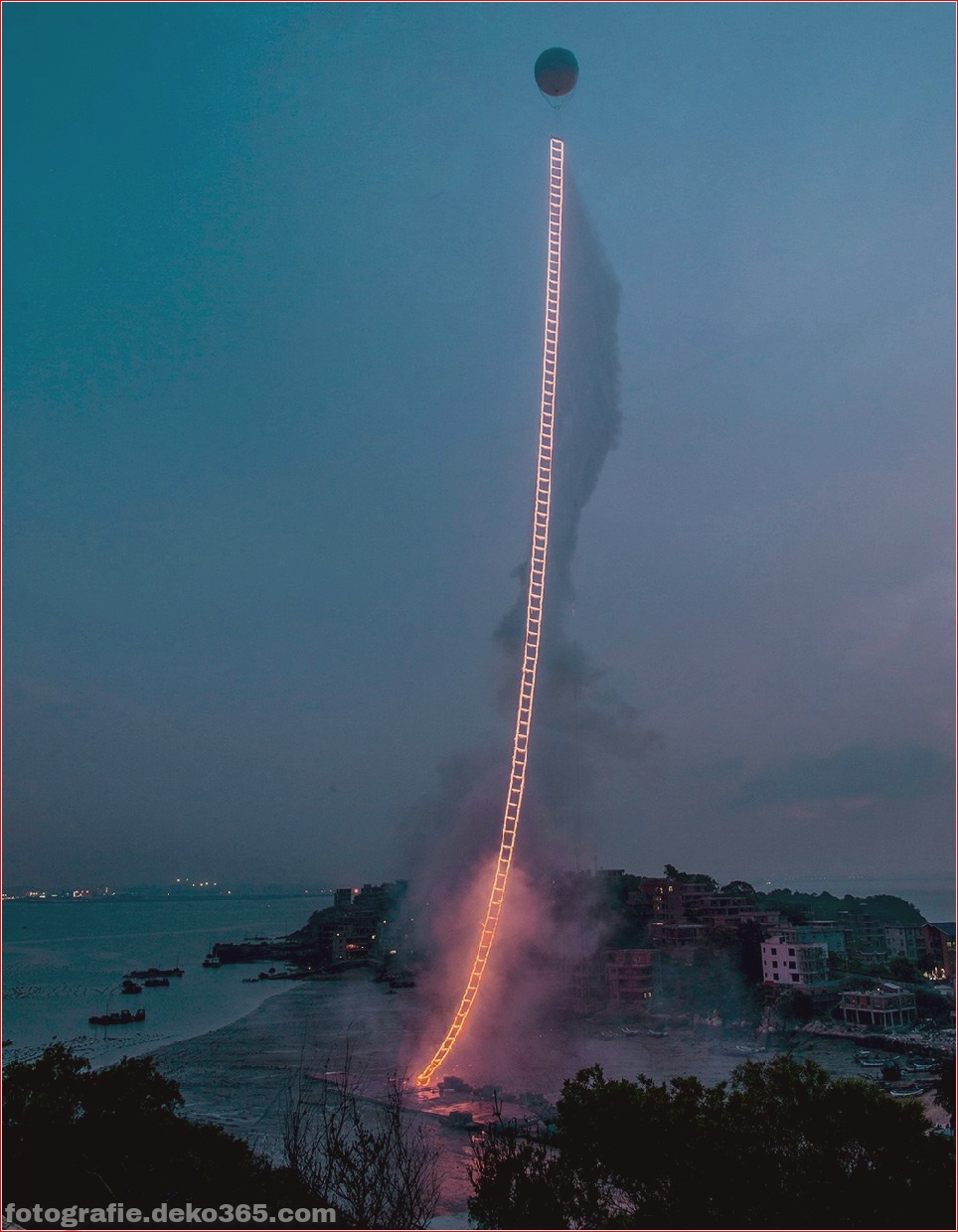 "Cai Guo-Qiang - ""Himmelsleiter"" (China) (5)"