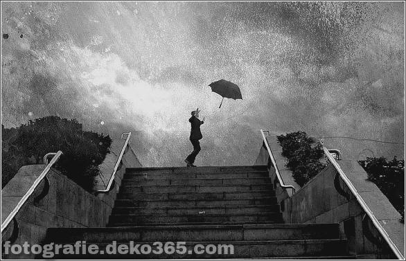 Interessant Atmosphärisch in Regen Fotos (3)
