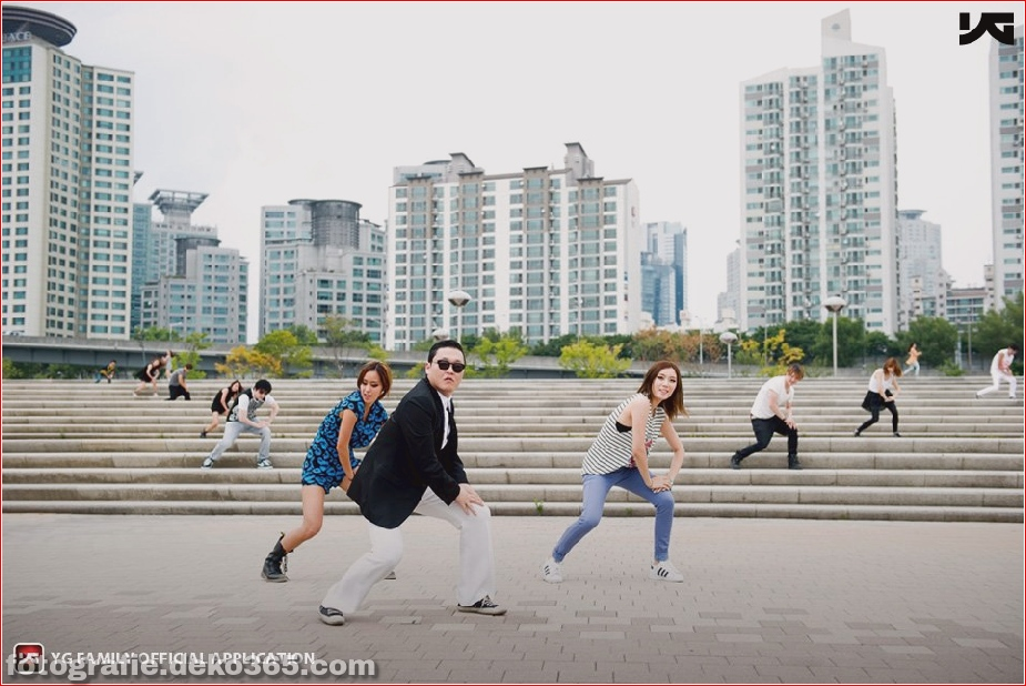 gangnam dances