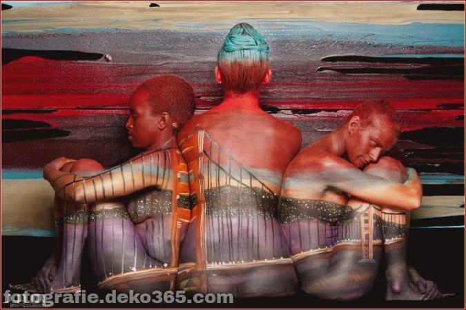 Amazing Body Art Illusions von Trina Merry (13)