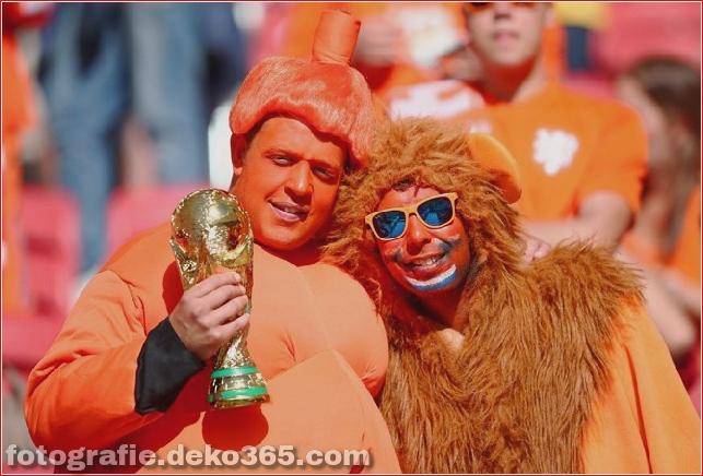 Fans von kreativen Kostümen bei der Weltmeisterschaft 2014 (1)