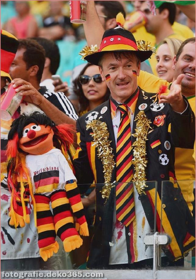 Fans von kreativen Kostümen bei der Weltmeisterschaft 2014 (2)