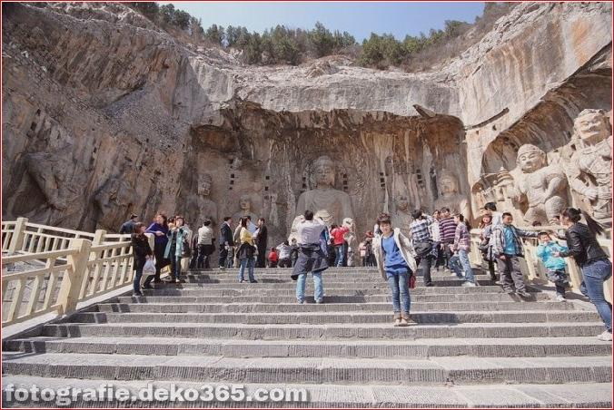 Longmen - Steinhöhle im Drakensbergtor (9)