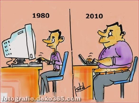 Beste und schlechteste Welt kann sich ändern - Lustige Illustrationen (3)