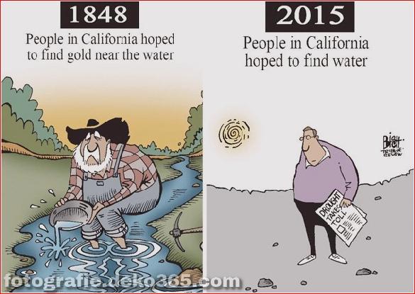Beste und schlechteste Welt kann sich ändern - Lustige Illustrationen (11)