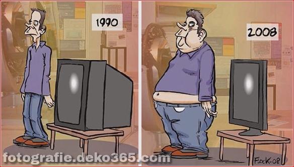Beste und schlechteste Welt kann sich ändern - Lustige Illustrationen (21)