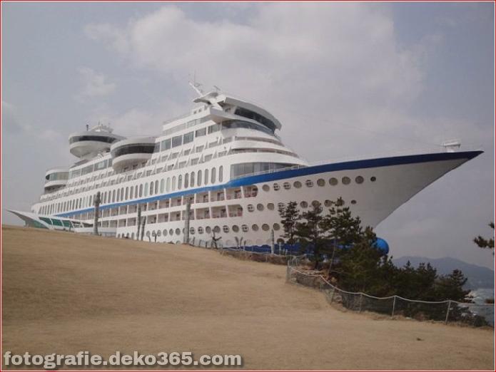 schiffförmiges Hotel in Südkorea (2)