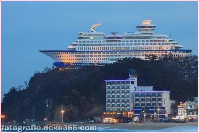 schiffförmiges Hotel in Südkorea (3)