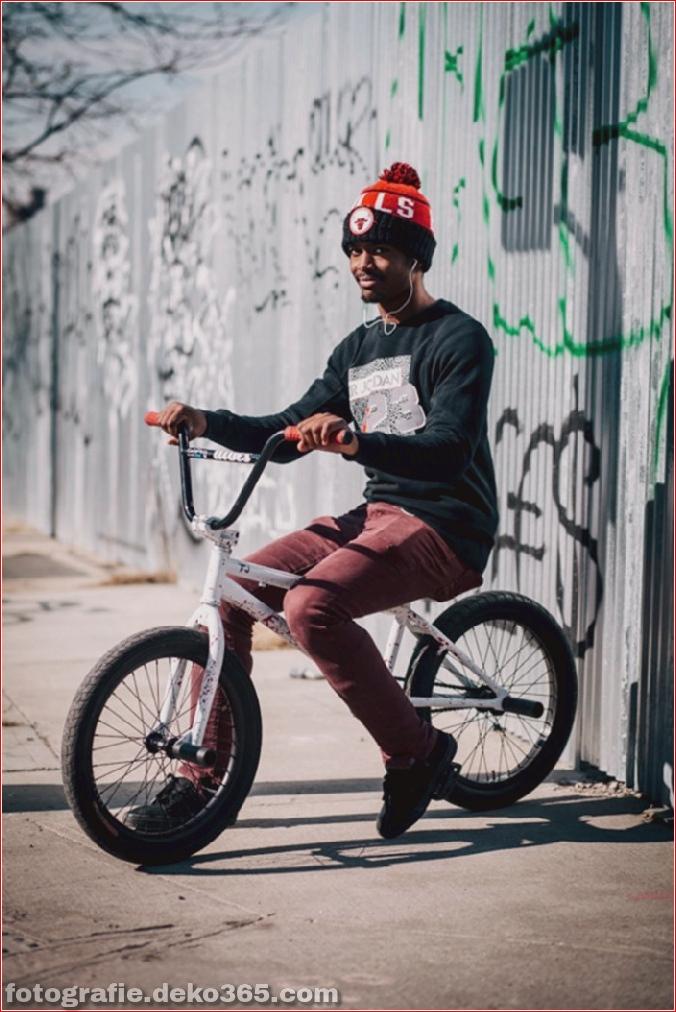 Portraits von angesagten New Yorkern mit ihren Rädern (1)