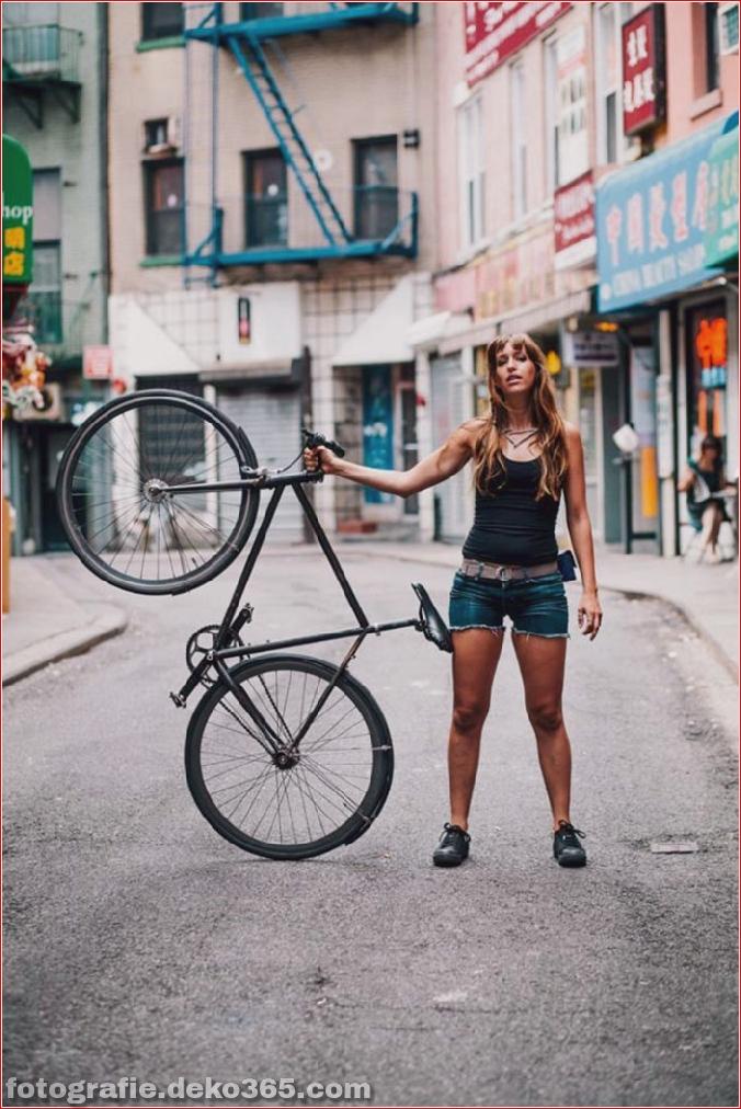 Portraits von angesagten New Yorkern mit ihren Rädern (2)